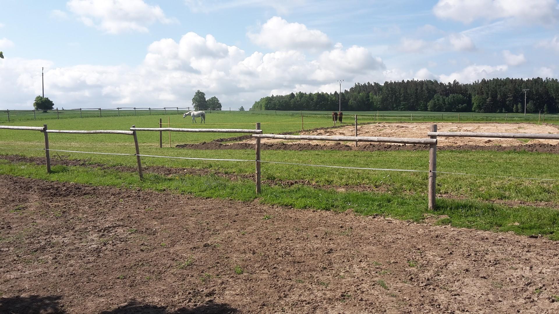 Ohrada s koňmi