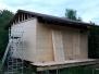 Stavba severní svatyně 2016
