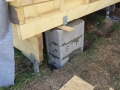 Betonové patky pro pořádnou stabilitu