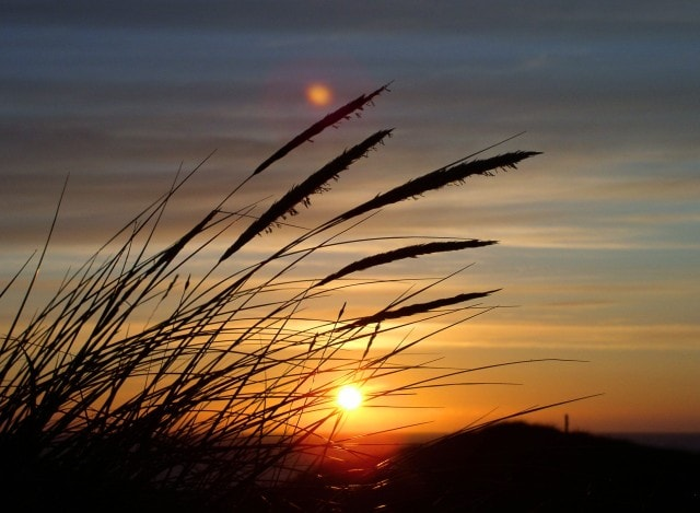 Západ slunce pobyt ve tmě