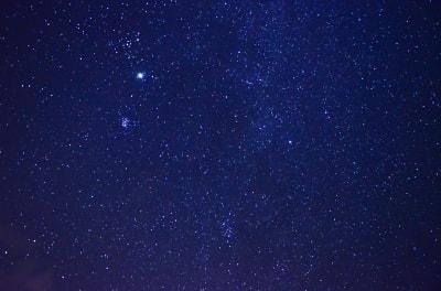 pobyt ve tmě - hvězdy
