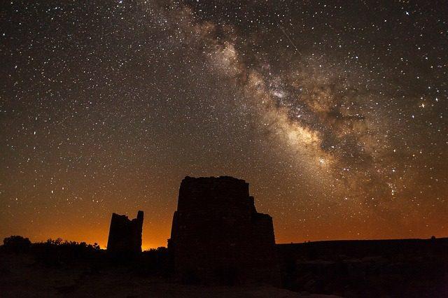 Hvězdy po pobytu ve tmě