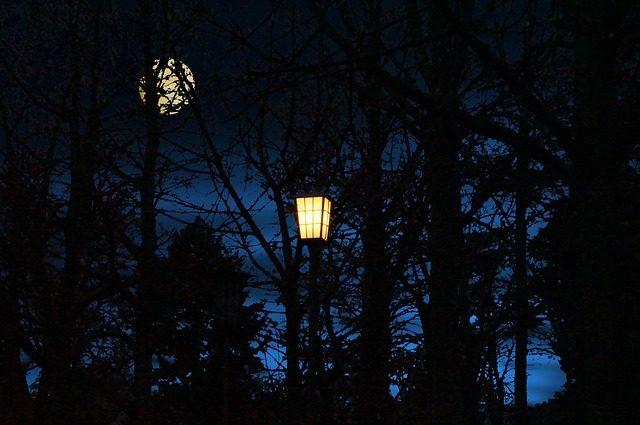 Světlo při pobytu ve tmě